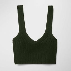"""Wilfred """"MONY"""" Knit Crop Top"""
